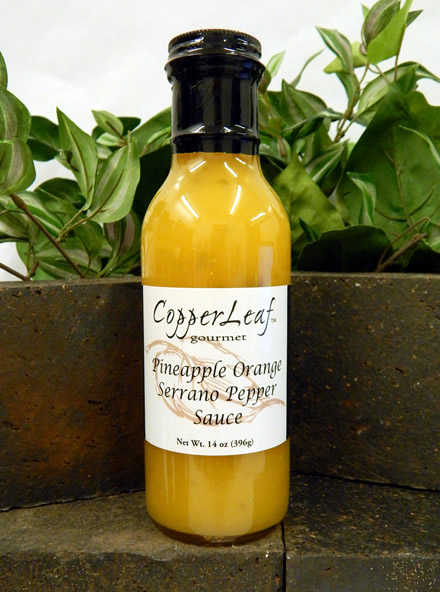 CopperLeaf Gourmet pineapple orange serrano pepper sauce