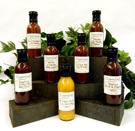 CopperLeaf Gourmet sauces and condiments
