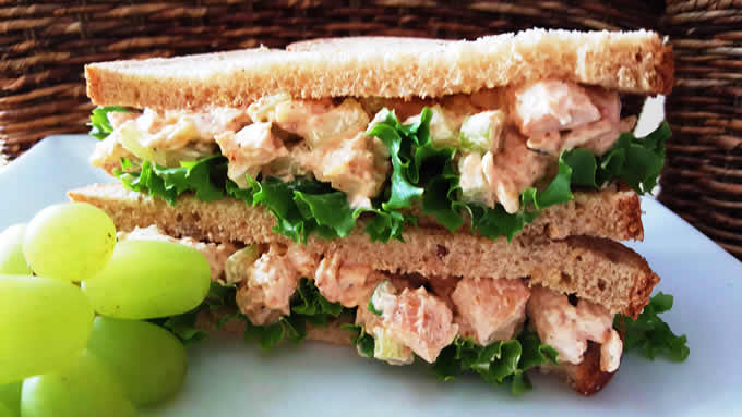 Chicken Salad Sandwich for Two