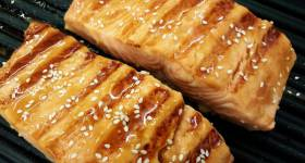 Teriyaki Glazed Salmon Recipe